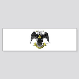 32nd Degree Mason Bumper Sticker