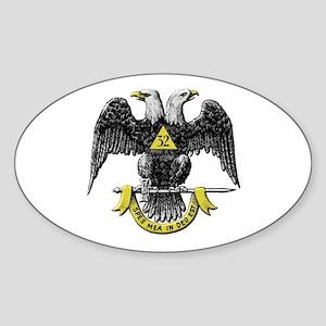 32nd Degree Mason Sticker