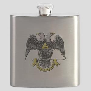 32nd Degree Mason Flask