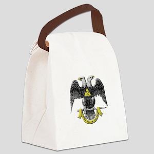 32nd Degree Mason Canvas Lunch Bag
