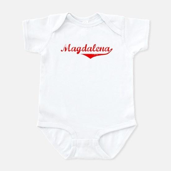 Magdalena Vintage (Red) Infant Bodysuit