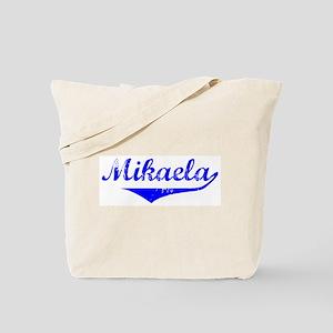 Mikaela Vintage (Blue) Tote Bag