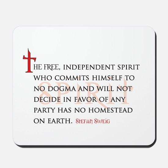 The Free Spirit Mousepad