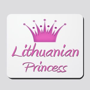 Lithuanian Princess Mousepad