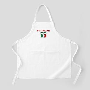 #1 Italian Papa BBQ Apron