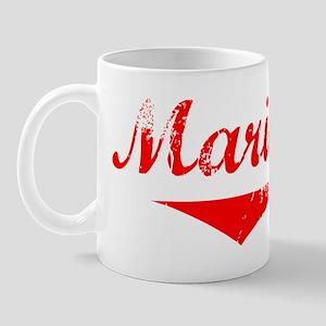 Mariam Vintage (Red) Mug