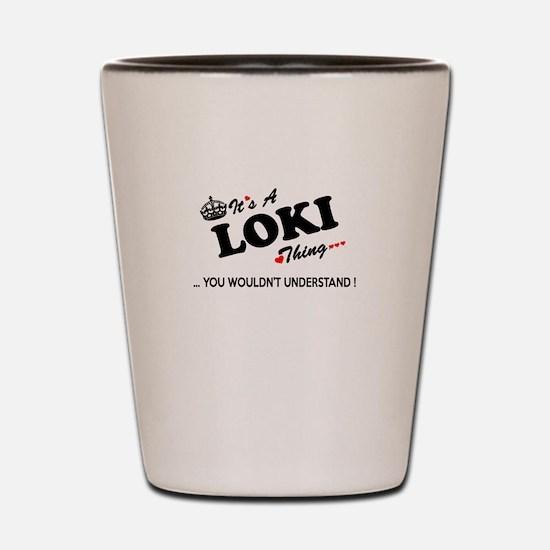 Cute Loki Shot Glass