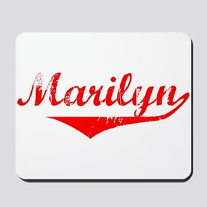 Marilyn Vintage (Red) Mousepad