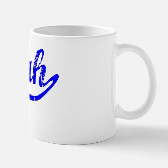Myah Vintage (Blue) Mug