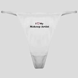 I Love My Makeup Artist Classic Thong