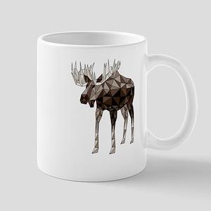 Geometric Moose Mugs