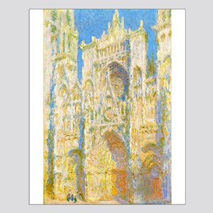 Rouen Cathedral Sunlight by Monet Posters