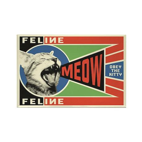 MEOW Kitty Propaganda Magnets (10 pack!)