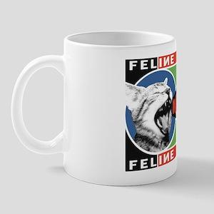 MEOW - Obey the Kitty! Propaganda Cat Mug