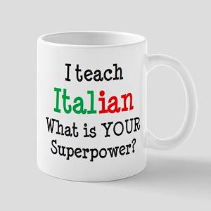 teach italian Mug