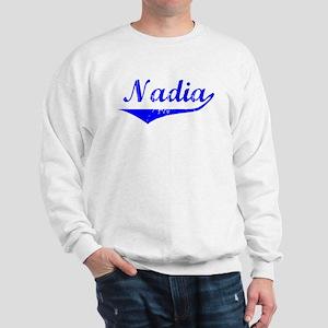 Nadia Vintage (Blue) Sweatshirt