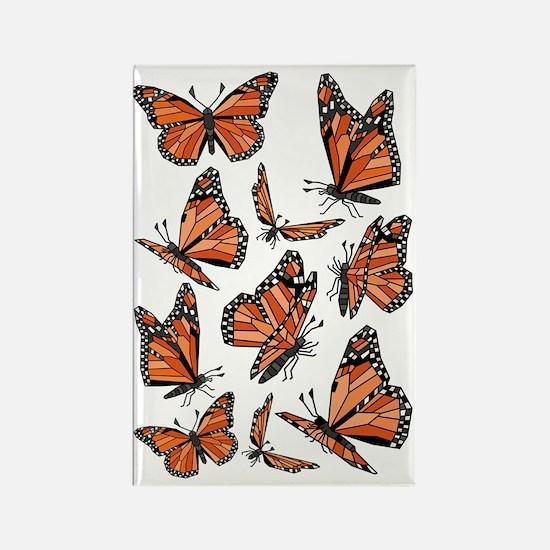 Cute Monarch Rectangle Magnet