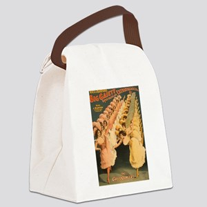 Gaiety Dancers Canvas Lunch Bag