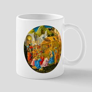 The Adoration of the Magi Nativity Scene Mugs