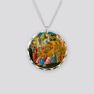 The Adoration of the Magi Nativity Scene Necklace