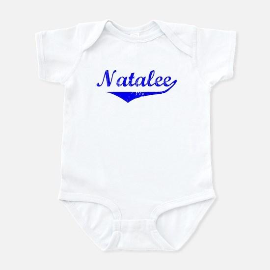 Natalee Vintage (Blue) Infant Bodysuit