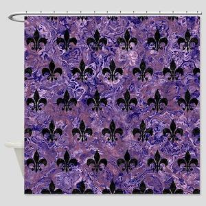 black and purple shower curtain. ROYAL1 BLACK MARBLE  PURPLE Shower Curtain Royal Purple Curtains CafePress