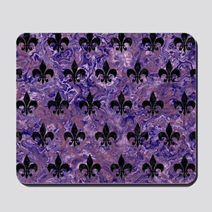 ROYAL1 BLACK MARBLE & PURPLE MARBLE Mousepad