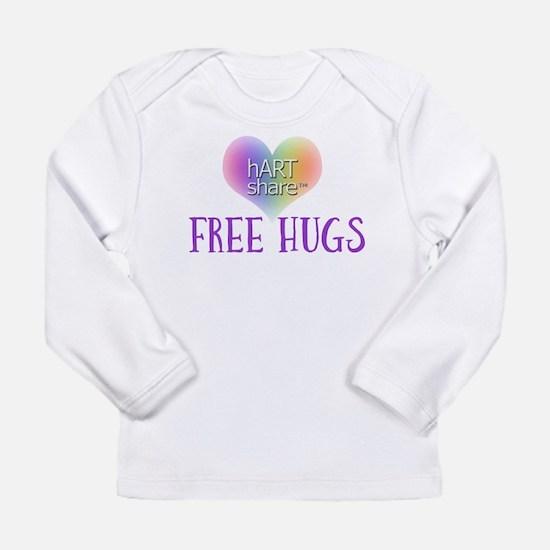 hARTshare Free Hugs Long Sleeve Infant T-Shirt