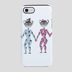 robot bears iPhone 8/7 Tough Case