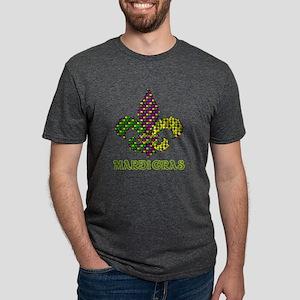 Mardi Gras Mens Tri-blend T-Shirt