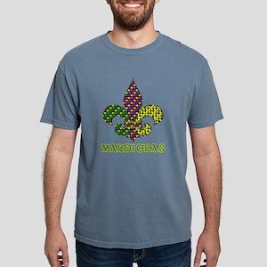 Mardi Gras Mens Comfort Colors Shirt