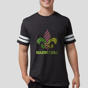 Mardi Gras Mens Football Shirt