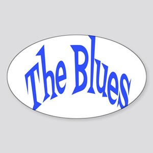 The Blues Sticker