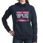 Check Out My Tatas (Canc Women's Hooded Sweatshirt