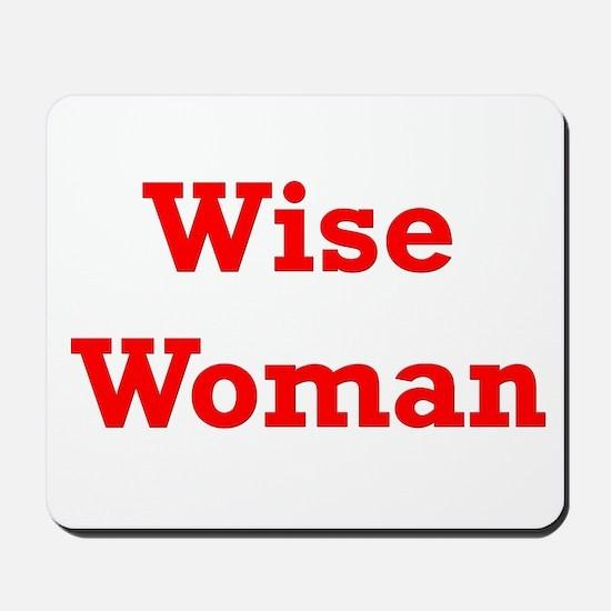 Wise Woman Mousepad