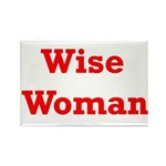 Wise Woman Rectangle Magnet (10 pack)