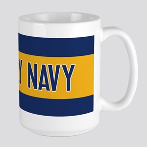 U.S. Navy: Fly Navy (F-35) Large Mug