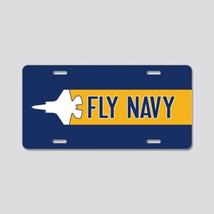 U.S. Navy: Fly Navy (F-35) Aluminum License Plate