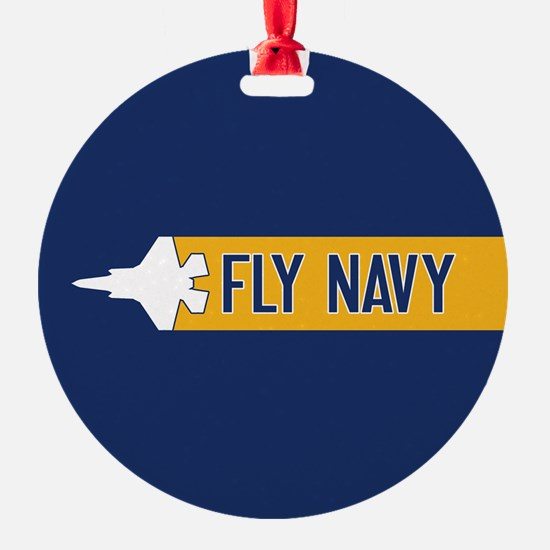U.S. Navy: Fly Navy (F-35) Ornament