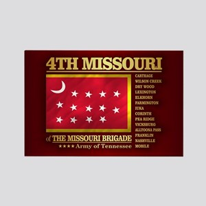 4th Missouri Infantry Magnets