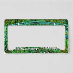 The Japanese Footbridge by Claude Monet License Pl