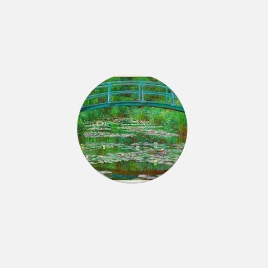 The Japanese Footbridge by Claude Monet Mini Butto