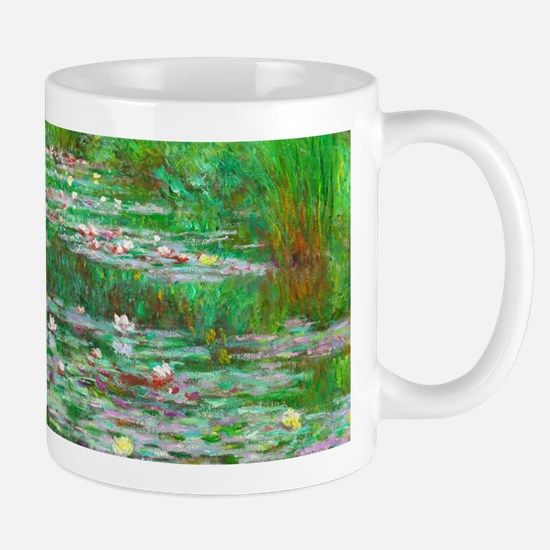 The Japanese Footbridge by Claude Monet Mugs