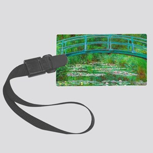 The Japanese Footbridge by Claude Monet Luggage Ta