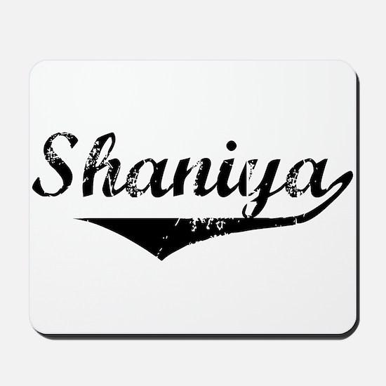 Shaniya Vintage (Black) Mousepad