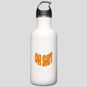 Oh SHIT Stainless Water Bottle 1.0L