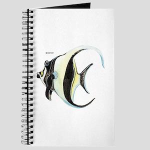 Moorish Idol Tropical Fish Journal