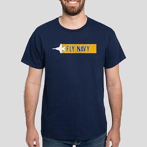 U.S. Navy: Fly Navy (F-18) Dark T-Shirt