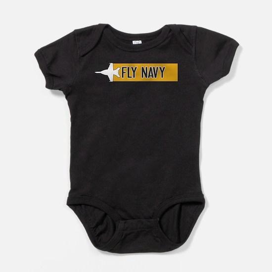U.S. Navy: Fly Navy (F-18) Baby Bodysuit