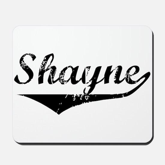 Shayne Vintage (Black) Mousepad